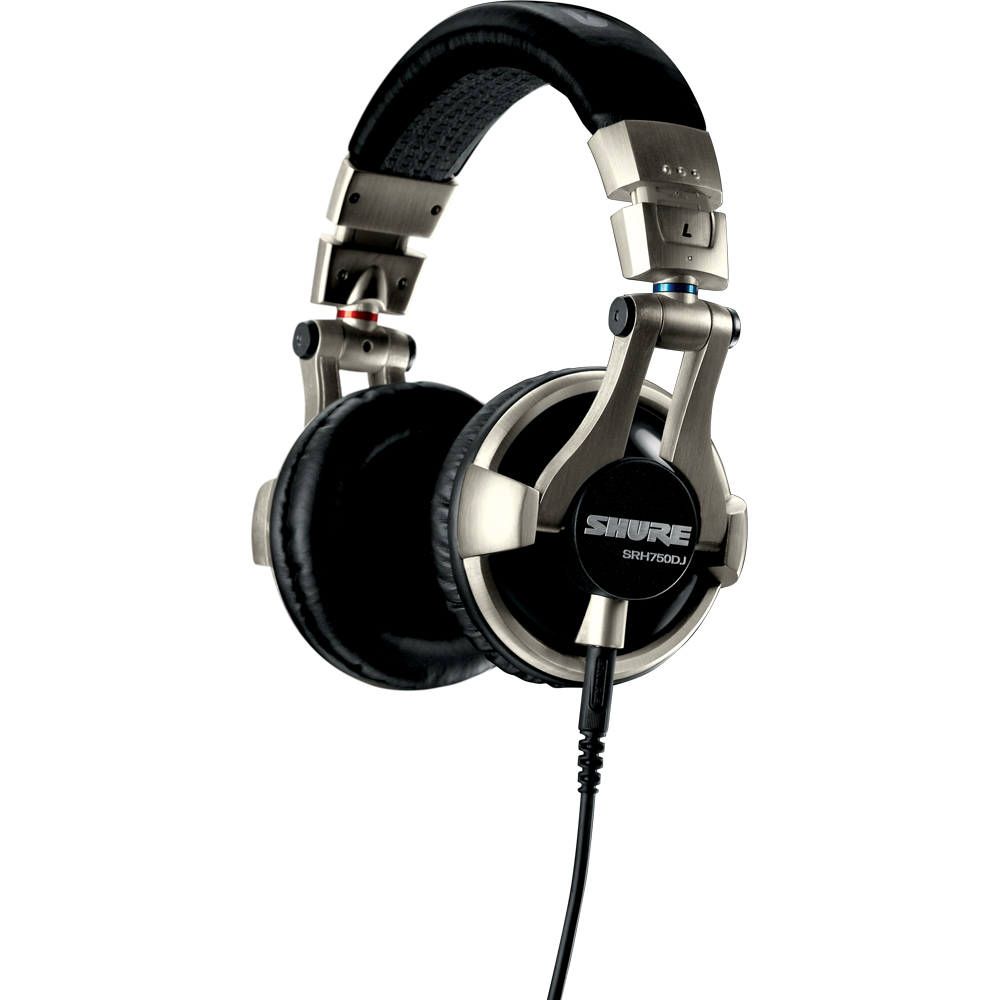 Shure SRH750DJ Professional Quality DJ Headphones - The Disc DJ Store 000c42c23b